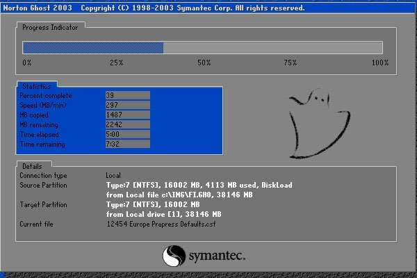 Cách tạo bản ghost trên máy tính