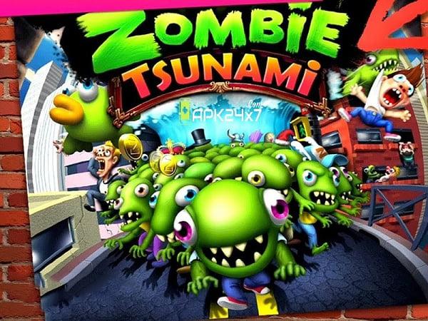 Cách hack Zombie Tsunami khá đơn giản
