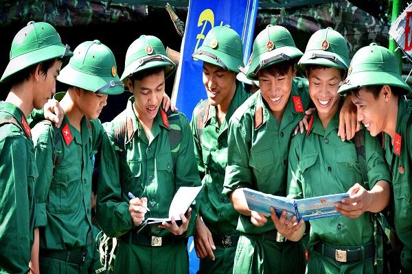 Môi trường quân ngũ rất thích hợp để rèn luyện tính cách cho thanh thiếu niên