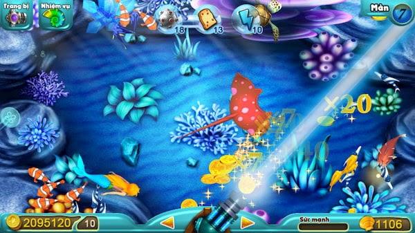 Khám phá tựa game bắn cá ăn xu hack siêu hot