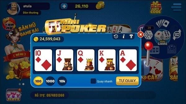 Mẹo nổ hũ mini poker từ những cao thủ sòng bài