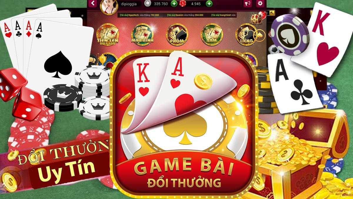 Chơi game bài online đổi thưởng để kiếm tiền nhanh