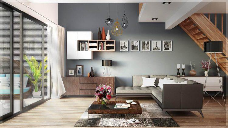 Cách trang trí phòng khách trang nhã với đồ gốm truyền thống