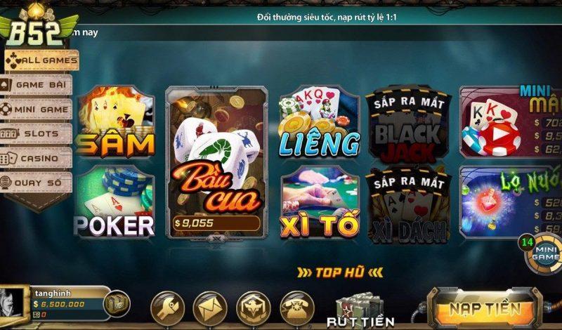 Game B52 Club – Game bài chất lượng nhất trong năm 2020