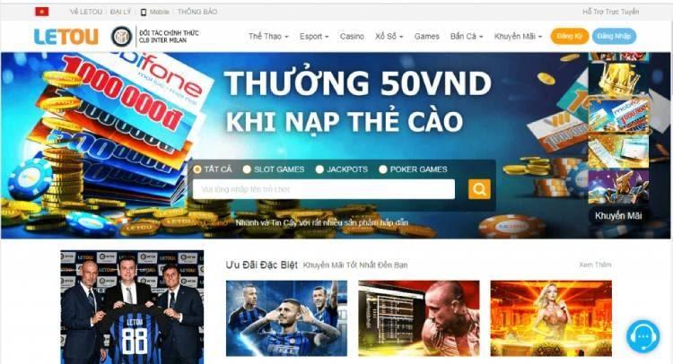 Casino online ở cổng game Letou