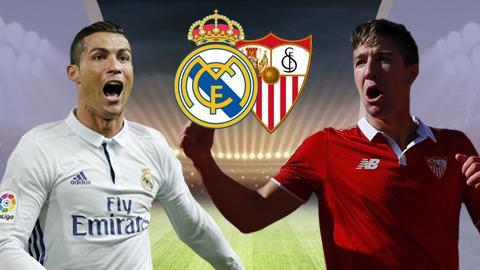 Soi kèo trận Real Madrid vs Sevilla
